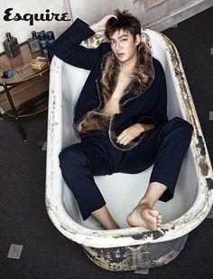 Lee Min Ho - Esquire Magazine September Issue '13