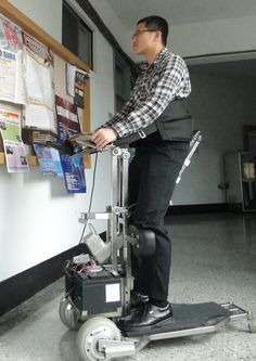 i-Transport - allowing more accessibility than a wheelchair.  #technology #assistive #itransport #disabled