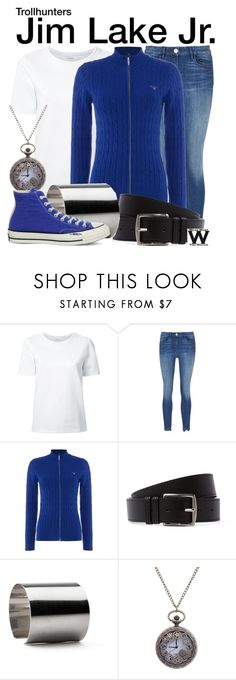 """""""Trollhunters"""" by wearwhatyouwatch ❤ liked on Polyvore featuring Lemaire, GANT, Hermès, Maria Dorai Raj, Converse, television and wearwhatyouwatch"""