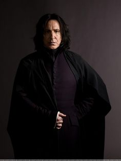 Snape- perfect picture of him.