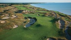 Keep your golf clubs accessible during your move and hit some of America's most beautiful courses: WHISTLING STRAITS G.C.