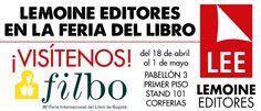 Falta un día para que inicie la Feria Internacional del Libro de Bogotá. ¡Los esperamos!