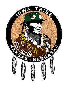 The Iowa Tribe of Kansas and Nebraska is one of two federally recognized tribes of Iowa people. The other is the Iowa Tribe of Oklahoma. * 29327+CT Nebraska, Oklahoma, Kansas, Indian Tribes, Seals, Iowa, Nativity, Turtle, Island