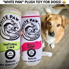 White Paw Plush Toy For Dogs - Make your pup your new drinking buddy! Man Crates, Ball Launcher, Pokemon Coloring, Drinking Buddies, Take My Money, Water Toys, Dog Toys