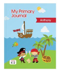 'Yo Ho' Pirate Personalized Journal