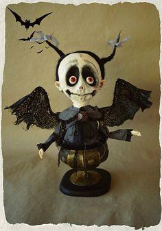 OOAK ART Doll bust '' MarChella  by LinaMacijauskieneART on Etsy
