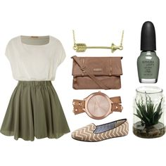 Perfect outfit to transition into fall!!
