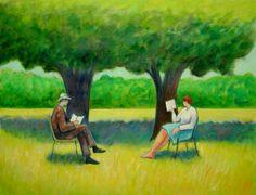 Reading and Art - Warren Dennis