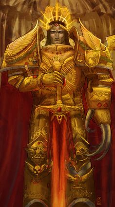 Holy God-Emperror of Imperium   All rights belong to GW, Warhammer 40.000 universe.