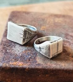 "Shelly Ganz jewelry on Instagram: ""CARVED MEMORIES RINGS from IN MY FOREST collection It's urban, natural, wild and dam it is just perfect! You can find this baby at the Link…"""