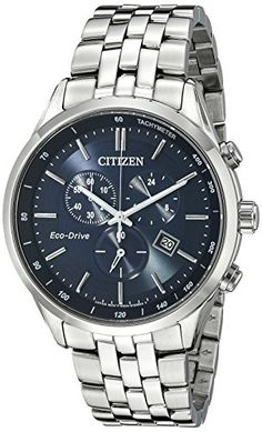 Citizen Men's AT2141-52L Analog Display Japanese Quartz Silver
