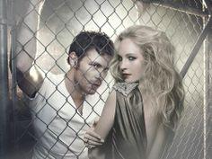 Klaus and Caroline the Vampire Diaries