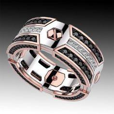 Men Jewelry and fashion jewelry Gems Jewelry, Jewelry Accessories, Fashion Accessories, Fashion Jewelry, Men's Jewellery, Designer Jewellery, Diamond Jewellery, Jewellery Designs, Men's Fashion