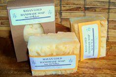 Handmade/Homemade Hot Process SoapMayan Gold by WellsHobbyFarm, $4.50
