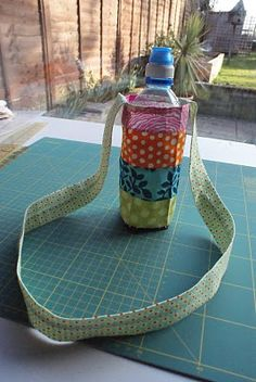 Water bottle carrier - (need to search thru posts to find actual instructions)
