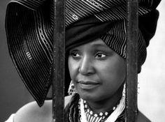 Xhosa Doek Inspirations From Mam Winnie Mandela Latest African Fashion Dresses, African Print Fashion, African Culture, African History, Doek Styles, Winnie Mandela, Xhosa Attire, Traditional African Clothing, African Wedding Attire