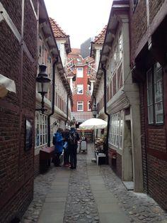 Kremeramtswohnungen, apartments for widows of members of the Merchant Guild, Hamburg, Germany