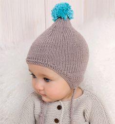 Modèle bonnet bébé péruvien