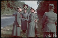 Wehrmacht in Color LIFE Image