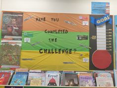 Encouaraging students to complete the Premiers Reading Challenge by filling the Goal barometer. Reading Challenge, Clever, Students, Challenges, Goals