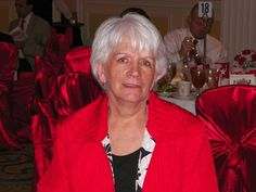 At our table: Myra Bruns