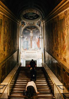 Scala Santa, magical place in Rome. Your sins will be forgiven. Rom-Bella Italia-Destination Photographer-Italy-Travel Photography