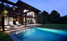 Solarhaus Passiv Schwimmbecken
