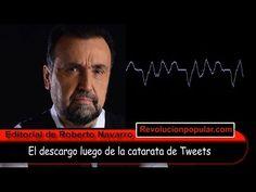 Durísima editorial de Roberto Navarro luego de denunciar la censura de C5N por Twitter - YouTube