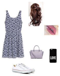 """""""Untitled #112"""" by averyvalclaunch on Polyvore featuring Converse, MICHAEL Michael Kors and Givenchy"""