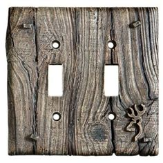 Browning® Room Accessories - Double Toggle Switchplate | Bass Pro Shops,  $9.99