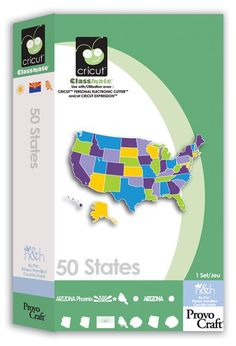 Def want!!! I could do so much!  Cricut® 50 States Classmate™ Cartridge