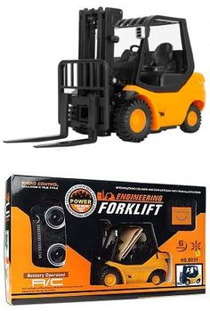 Remote Control Toys - RC Forklift with Lifting Arm Radio Remote Controlled Mini Engineering Truck Industry Fork Car .