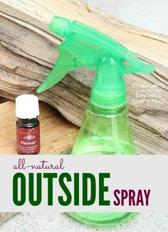 All Natural Outside Spray