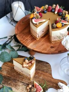 White Chocolate-Nougat Cumin Cheesecake – More Delicious … – Pastry World Baking Recipes, Cake Recipes, Dessert Recipes, Nougat Cake, Just Eat It, Sweet Pastries, Ice Cream Desserts, Cake Cookies, Yummy Cakes