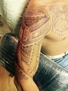 torzsi tetovalas freehand