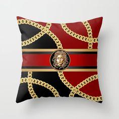 Medusa Head, Gold Chains, Throw Pillows, Stuff To Buy, Bags, Toss Pillows, Handbags, Cushions, Decorative Pillows