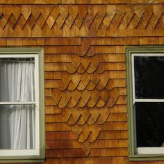 Heart shingles wee houses pinterest types of for Types of shingle siding