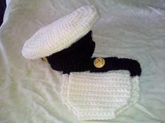 Naval Infant Photo Prop by BabblingHook on Etsy
