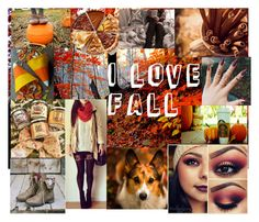 """Fall Loves"" by mya0nah21 on Polyvore featuring art"