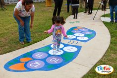 Fly away with this beautiful butterfly hopscotch, a custom playground stencil from Fit and Fun Playscapes! A great sensory activity for toddlers! Sherwin Williams Store, Sensory Activities Toddlers, Largest Butterfly, Paint Supplies, Outdoor Playground, Hopscotch, School S, Beautiful Butterflies, Playroom