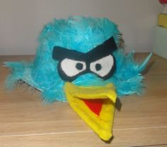 Angry Birds Easter Hat #easter #bonnet #easterhat #angrybirds #angry #birds
