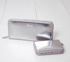MZ Wallace | Liquid Silver Wallets