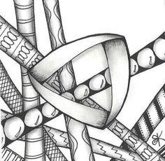 Penmark Patterns | Penmark Patterns Irish Inspiration Example Image #2 by Katie Butler, CZT