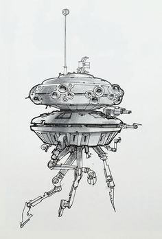 One of art legend Mœbius's smallest comic book doodles grew to a starring role in Star Wars II. Star Wars Boba Fett, Star Wars Clone Wars, Star Wars Art, Lego Star Wars, Star Trek, Joe Johnston, Star Wars Concept Art, Star Wars Action Figures, Star Wars Poster