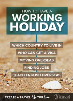 Is a working holiday on your bucket list? How about a gap year? Our guide can help get you started! Click inside!