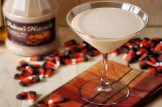 pumpkin pie martini  - 12 Holiday Cocktails and Mocktails - ParentMap