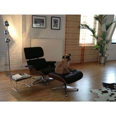 Lounge Chair Classic geinspireerd door Charles Eames - Replica design meubelen