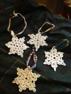 Ravelry: Joxy's Snowflake (pattern by Attic 24)
