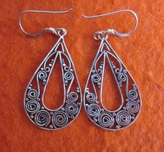 Excited to share the latest addition to my #etsy shop: Balinese silversmith art Sterling Silver Dangle Earrings  http://etsy.me/2BntCTF #jewelry #earrings #silver #women #earwire #earlobe #handmadeearrings #gift #everydaywear