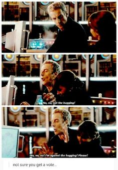 Cutest thing about Twelve and Clara :)